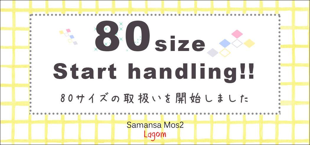 NEWS用 lagom80サイズ