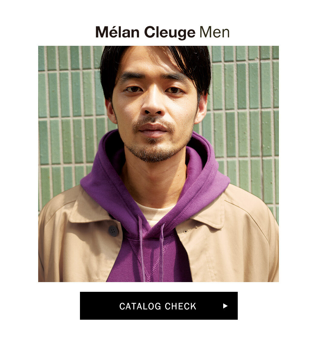 Melan cleuge秋カタログ,メランクルージュメンズ