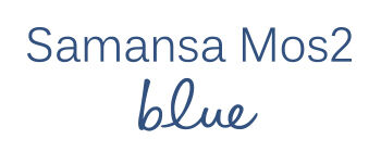 Samansa Mos2 blue(サマンサモスモス ブルー)公式通販