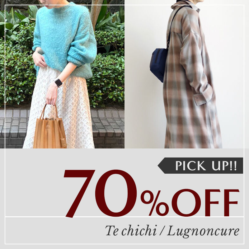 【70%OFF pick up!】
