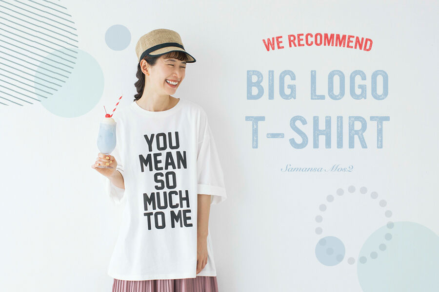 【BIG LOGO T-SHIRT】
